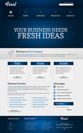Business Blue